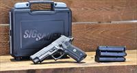 EASY PAY $110 DOWN LAYAWAY 12 MONTHLY PAYMENTS Sig Sauer service use today! Elite NS  Day Night Sights Beavertail  E26R9LEGIONS series P226 Legion  Gray PVD Finish SAO 9mm 4.4