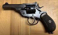 Antique Webley Mark 1 (Mk. I) British Military Revolver .455 blackpowder
