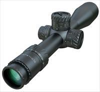 Tangent Theta Model TT525P 5-25x56mm Rifle Scope with MRAD reticle