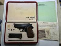 NAZI @@RARE@@ WALTHER PPK HONOR GRIPS GROUPING WITH PAPER WORK LOT