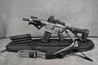 DB15P AR-15 TACTICAL PISTOL IN GRAY NEW UPGRADE LOPRO MINI LASER/FLASHLIGHT COMBO!