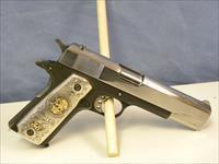 Colt 1911 Custom .38 Super w/ Silver Grips