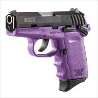 SCCY CPX-1 9mm Auto Pistol with Safety – Purple/Black - New in Box