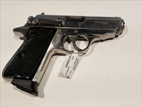 Walther PPK/S .380acp in stainless w/ belt clip