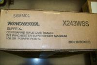 Winchester 243 WSSM 200 RNDS Free Shipping!