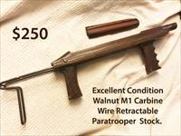 M1 Carbine Telescoping Paratrooper Stock Original Plainfield Iver Johnson