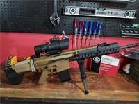 LNIB FN SCAR 17s FDE WITH TA648RMR ACOG