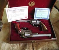 RUGER REDHAWK - SECURITY SIX - PMA - POLICE MARKSMAN ASSOCIATION LIMITED EDITION