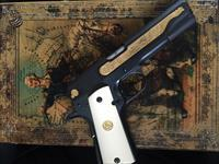 1911 Style,Baltimore Commemorative in super cool fitted antique book,gold accents,engraved,2 mags,made in 1982,really unique & very rare model !!