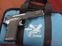 Wilson Combat KZ-45, 45 ACP,4 mags,polymer frame,carry case,target,manual,cleaning tool,etc. accurate & a great price !!