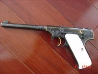 Colt Woodsman 1st Edition,1928,Master engraved & blued by Clint Finley & signed, 6 1/2