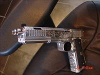 Arsenal Firearms,Double barrel 45, Dueller Prismatic,fully engraved & polished by Flannery Engraving,6