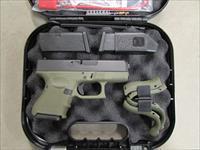 Glock 27 G27 Gen4 Battlefield Green Frame .40 S&W PG2750201BFG
