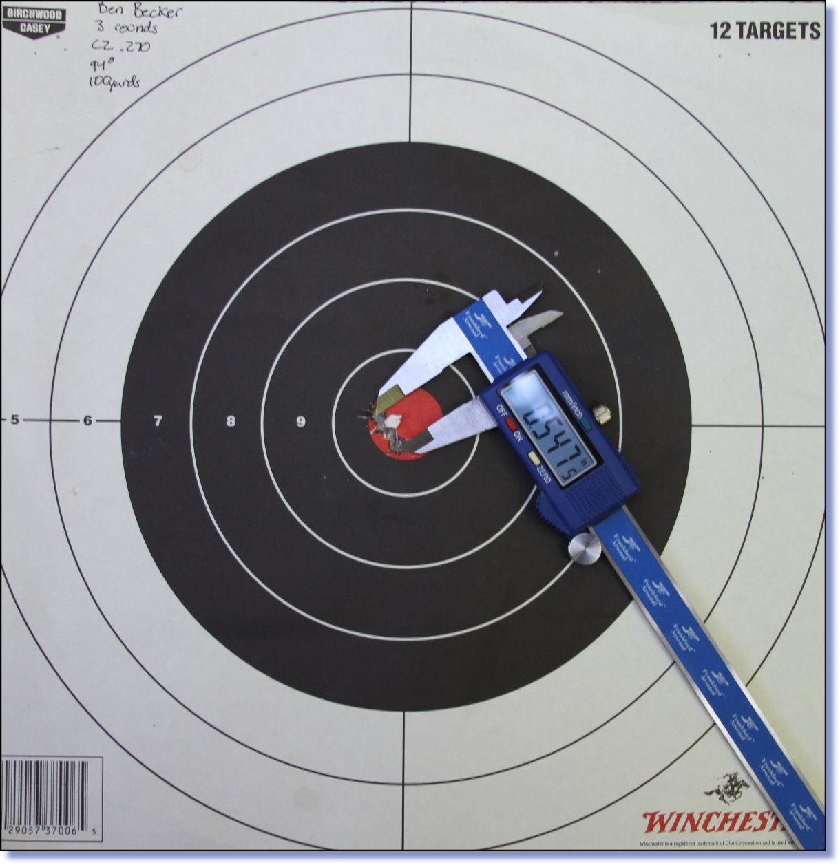 Minute of Angle (MOA) Accuracy Out of the Box - GunsAmerica