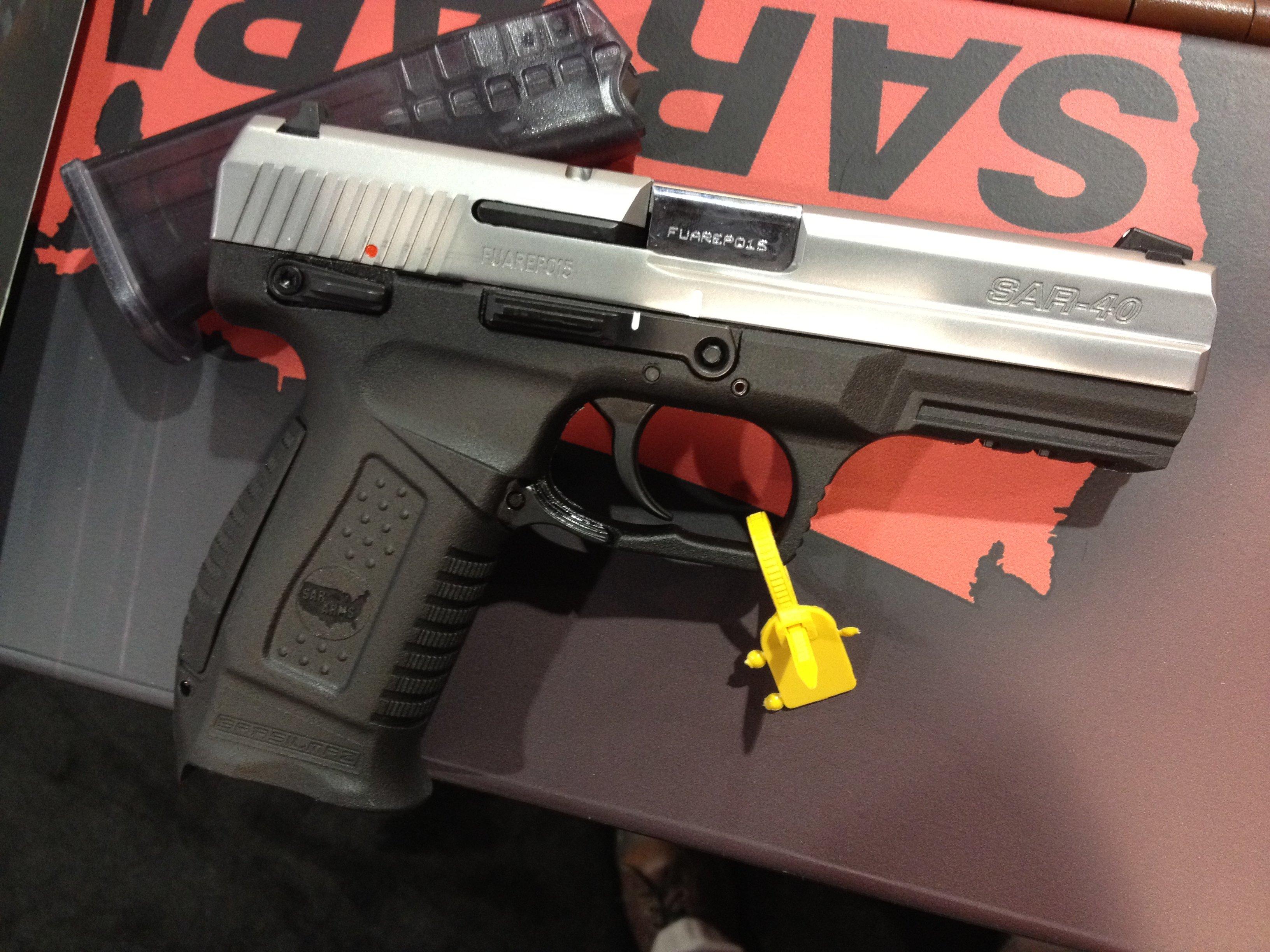 SAR Arms Striker Pistol from Turkey - GunsAmerica Digest