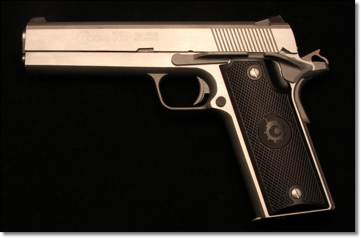 coonan-357-magnum-1911-left jpg - GunsAmerica Digest