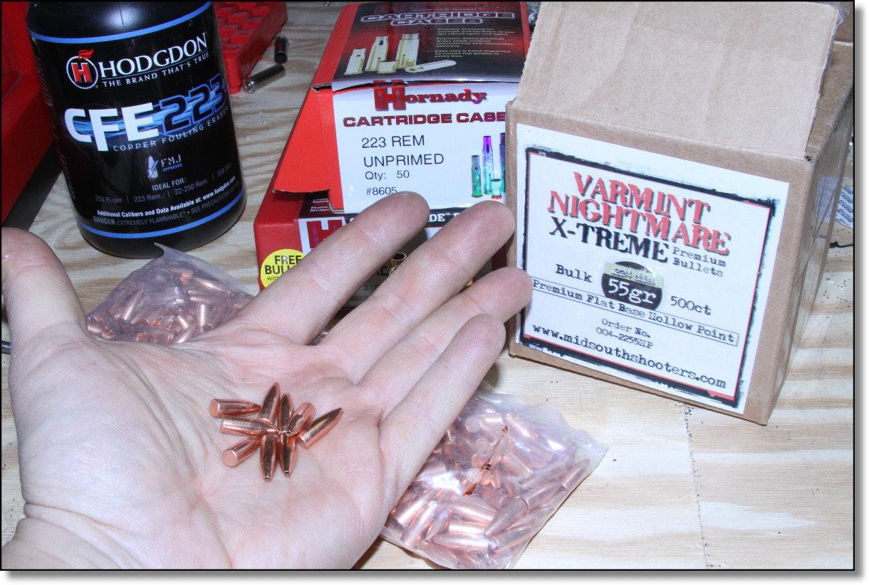 midsouth-varmint-nightmare-55gr-bullet-hodgdon-cfe-223-hornady-brass