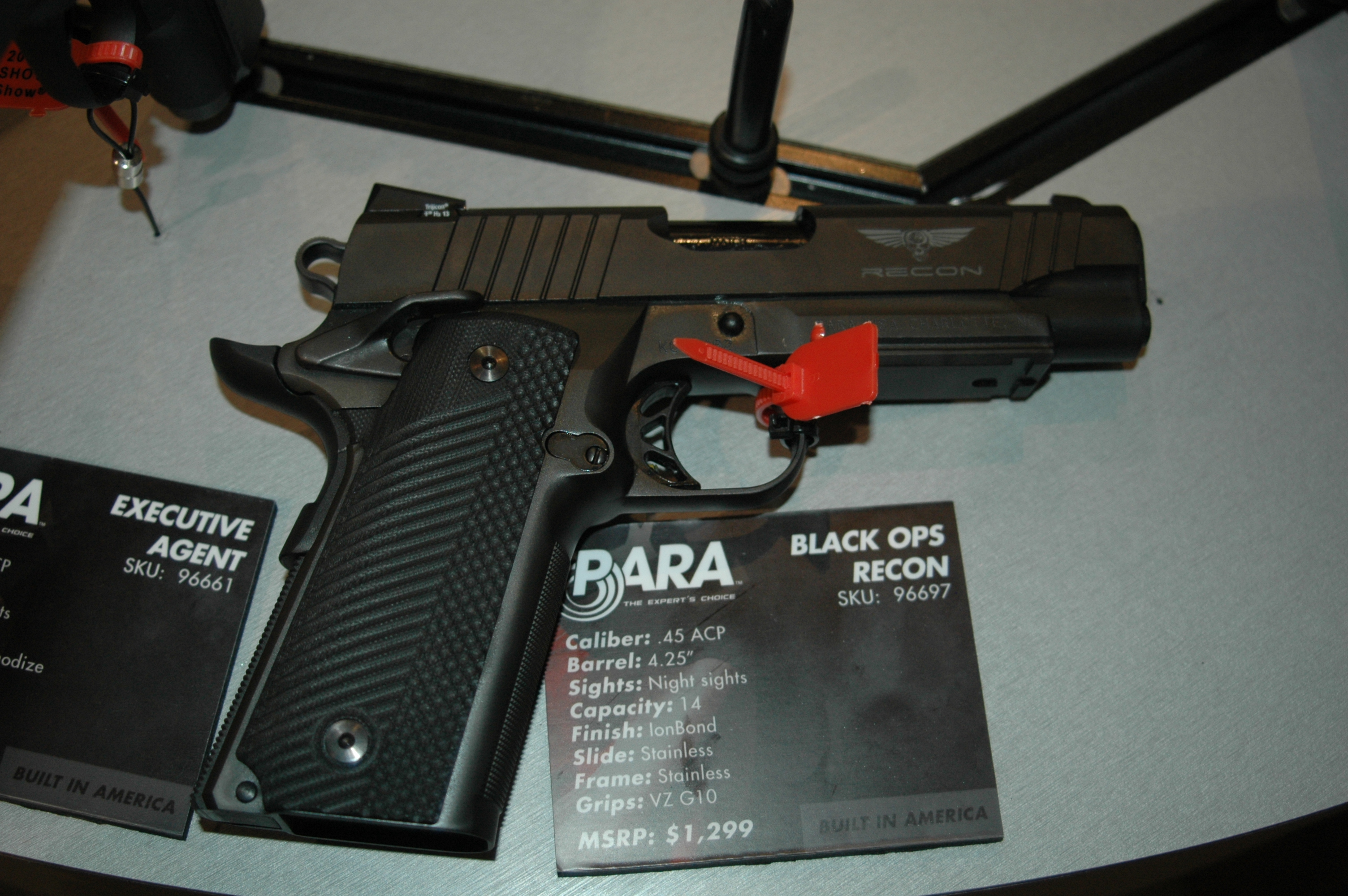 Five New Pistols from Para-USA - SHOT Show 2013
