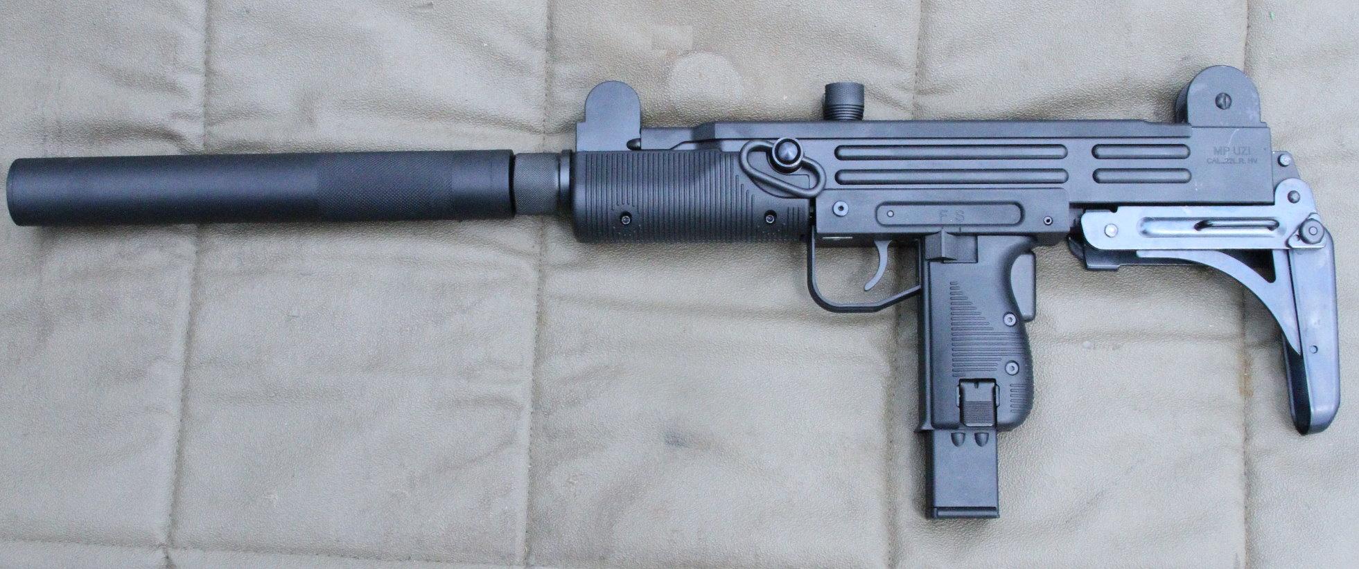 Walther  22LR Uzi Copy - New Gun Review - GunsAmerica Digest