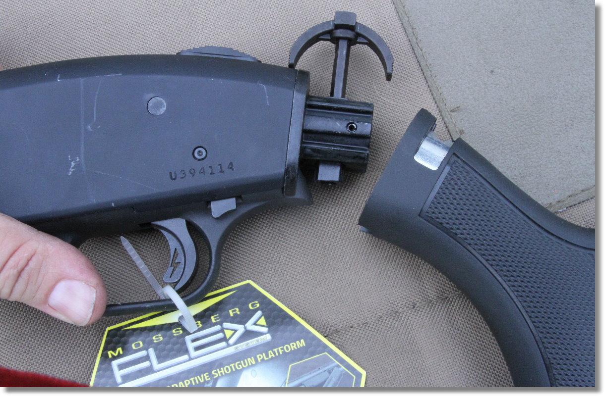 Mossberg FLEX Modular 500/590 Shotguns - How Does It Work