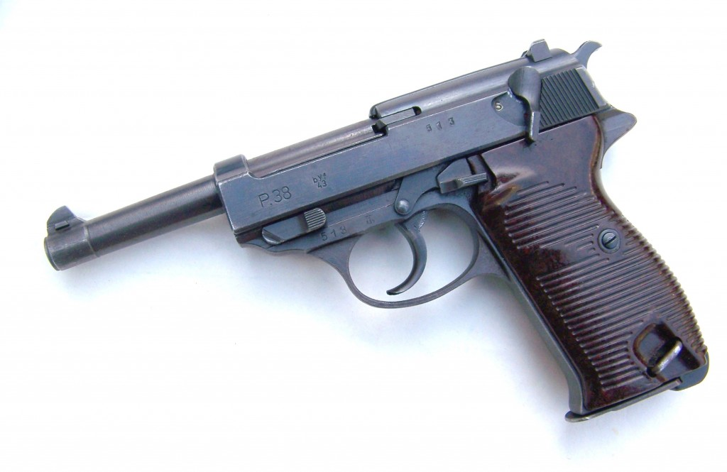 WALTHER P38 P-38 9mm Pistol Technical Maintenance Guide