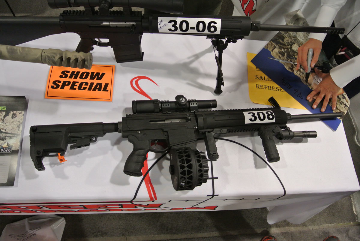 noreen firearms an ar pattern rifle in 30 06 bigger is better shot