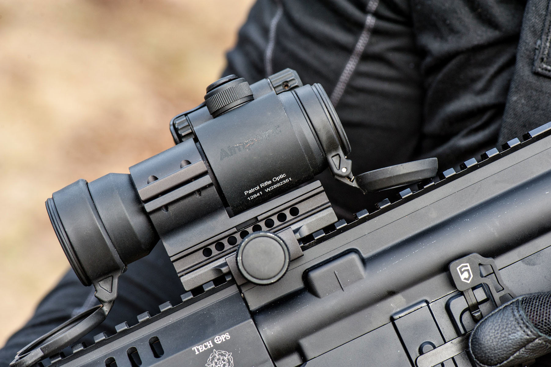 aimpoint pro advanced technology and durability gunsamerica digest
