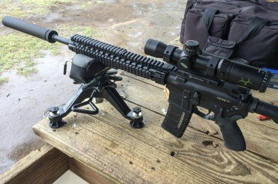 You have to admit, a silencer makes any rifle cooler - like this SilencerCo Specwar 762 on a Daniel Defense DDM4v5 300 Blackout.