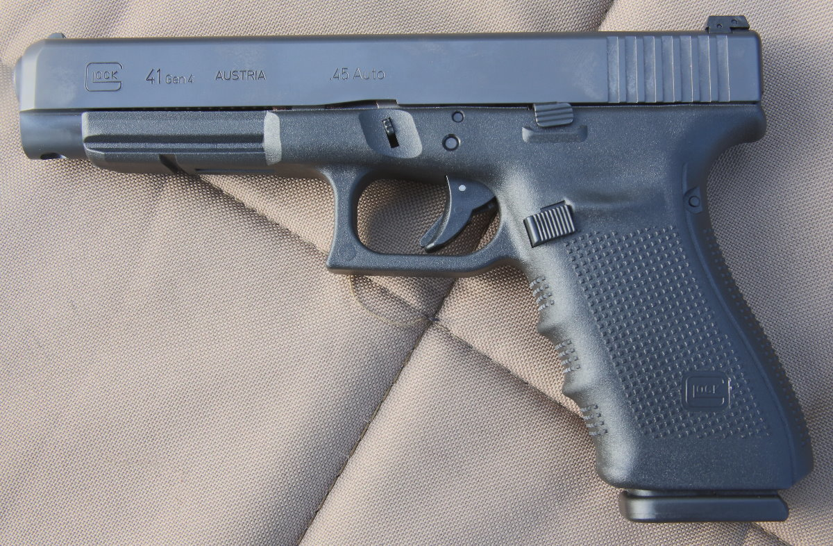 Glock 41 Gen  4 - New Gun Review - Competition/Duty/Home