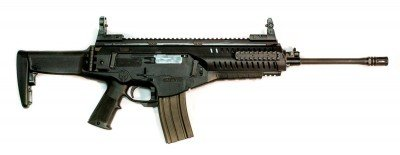 As the exterior appearance indicates, the Beretta ARX100 is a complete redesign.