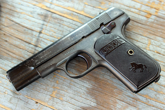 Shooting History: Colt's 1903 Pocket Hammerless-Old Gun Review