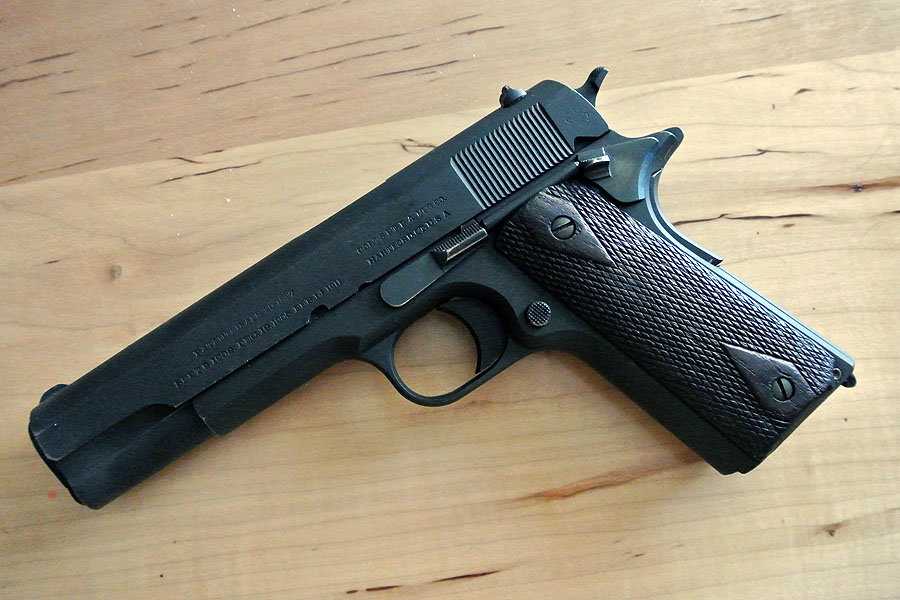 Colt 1911 WWI Grip Safety Made in 1918 Good Shape