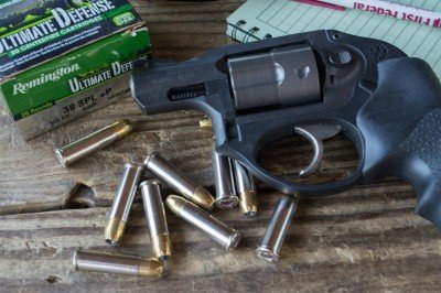 For this test, I decided to use a snub-nose revolver, a Ruger LCR 357.
