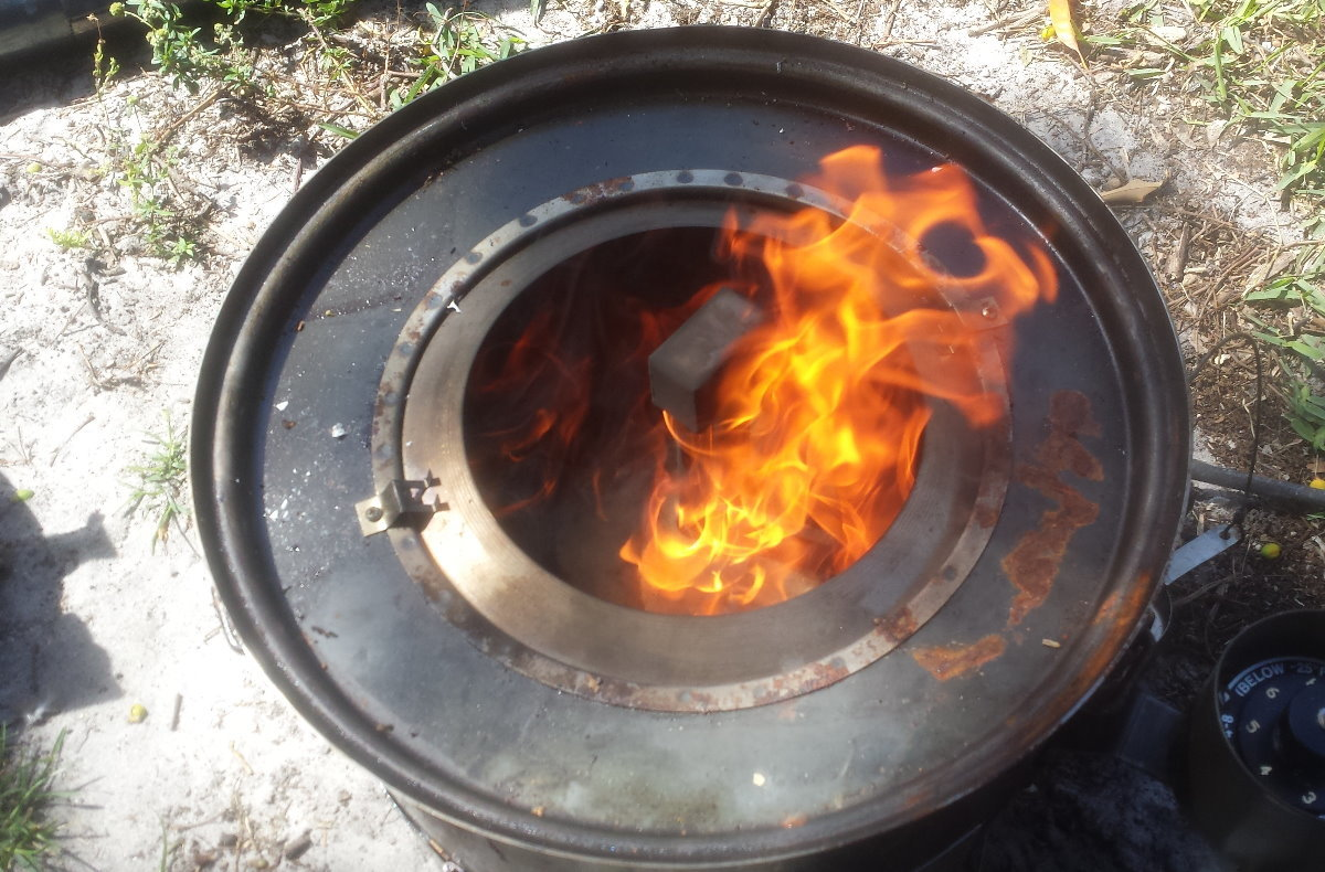 Prepping 101: Urban Survival Heater Stove Burns Oil/Gasoline