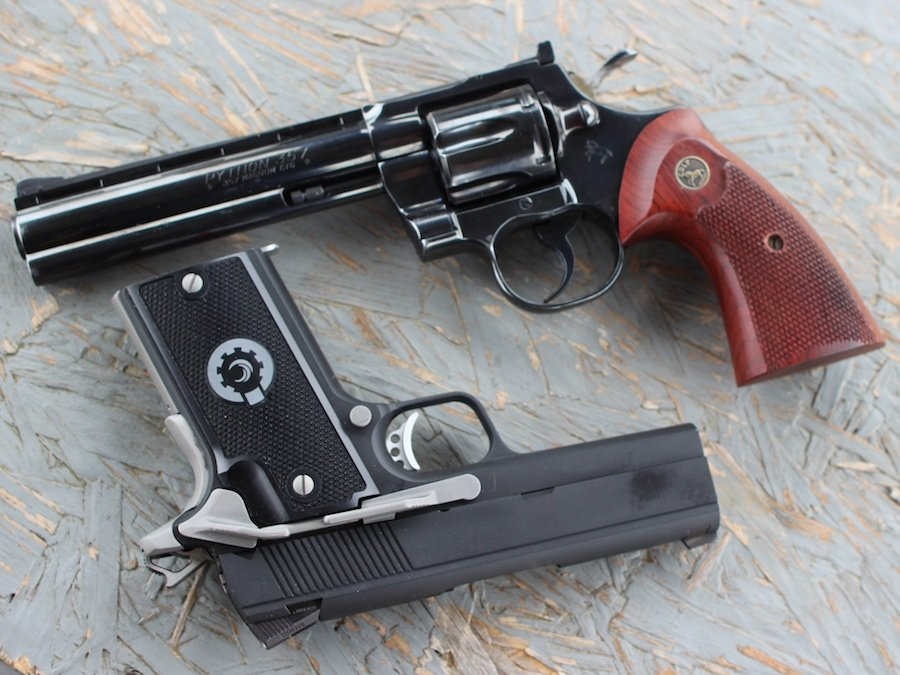 357 Shoot-off-Coonan Vs  Python - GunsAmerica Digest