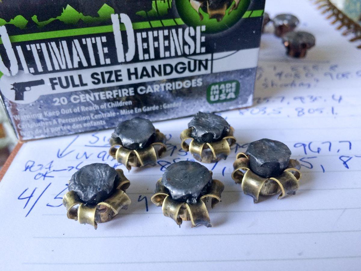 Ammo Test: Remington Ultimate Defense 9mm 124 Grain Full Size Handgun -  GunsAmerica Digest