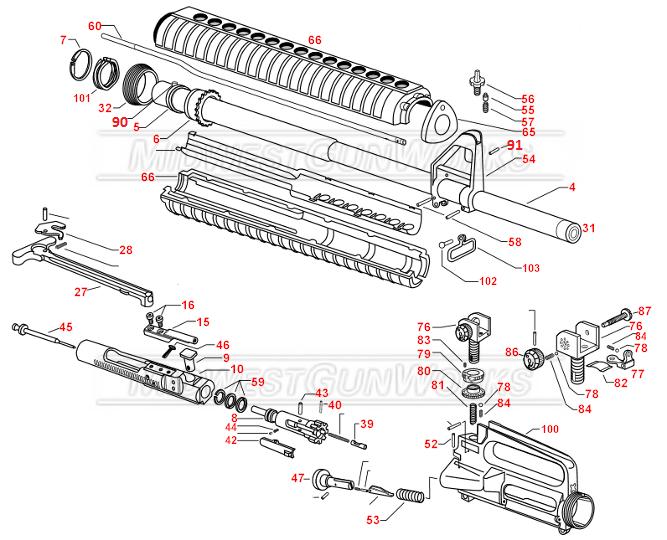 AR-upper-schematic - GunsAmerica Digest