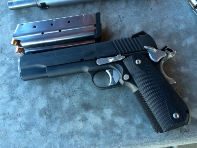 The Sig Sauer Nightmare: a 1911 chambered in .357 Sig.