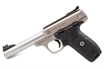 The Smith & Wesson Victory standard model.