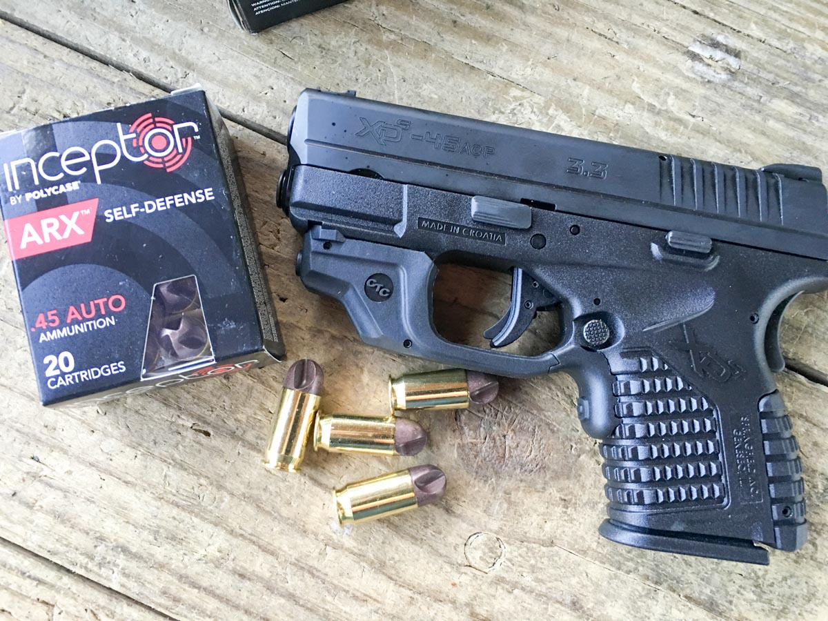 New Crimson Trace Laserguard Springfield XD-S - Review