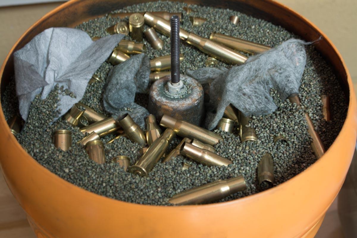 reloading brass cleaning and preparation to load gunsamerica digest. Black Bedroom Furniture Sets. Home Design Ideas