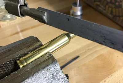 OK, so maybe this isn't the most precise way to trim your cartridge cases...