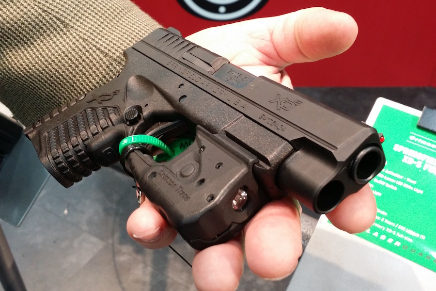 Crimson Trace's Laserguard Pro is Ultimate CCW Combo - NRA 2016
