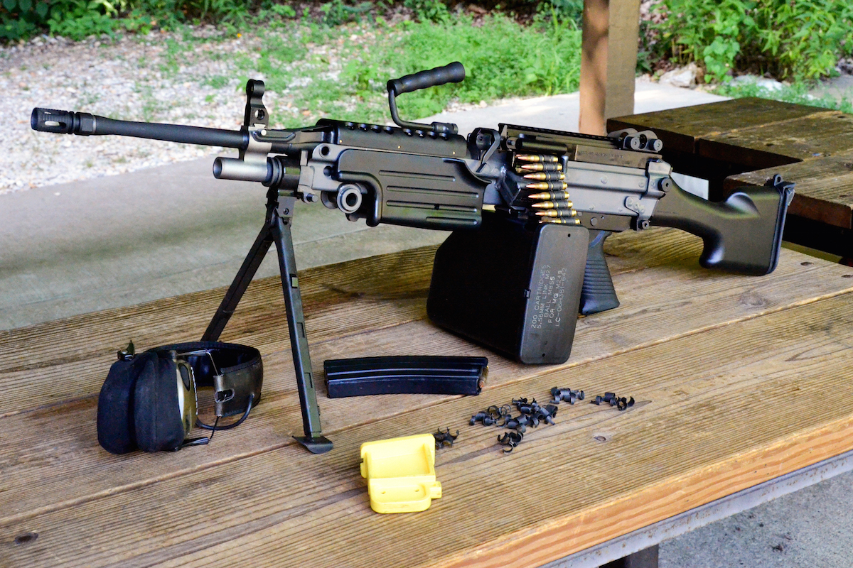 the new 5.56 M249S from FN USA delivers a semi-auto version of the battle