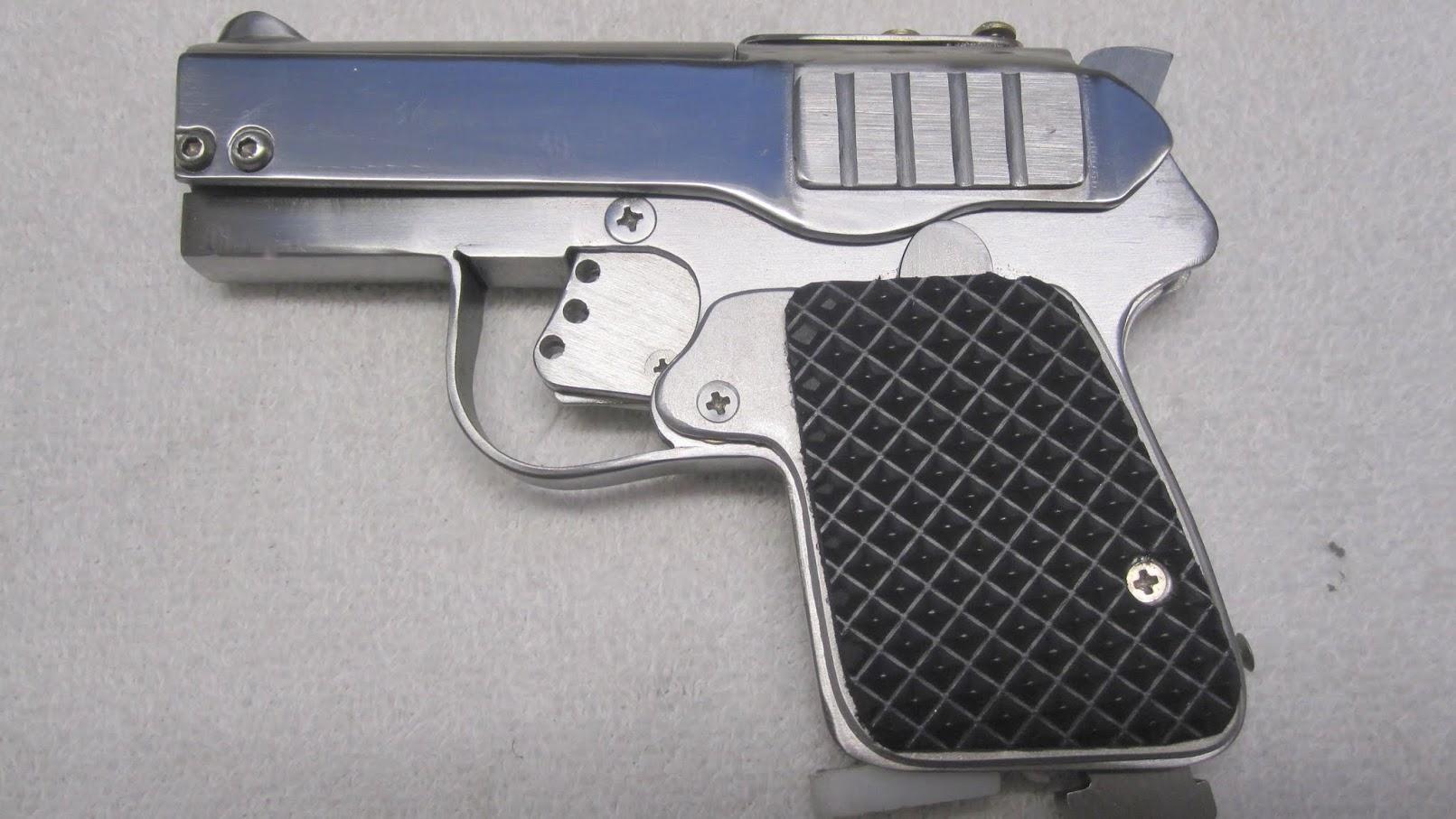 Meet the Krikit 25, the DIY Sheet Metal Pocket Pistol