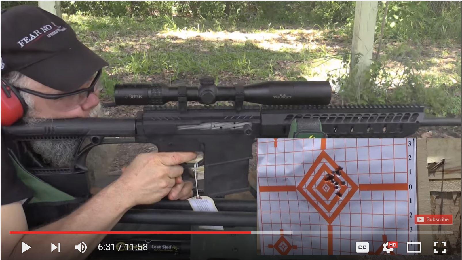 long range assassin is 30 06 semi auto ar 15 noreen bn36