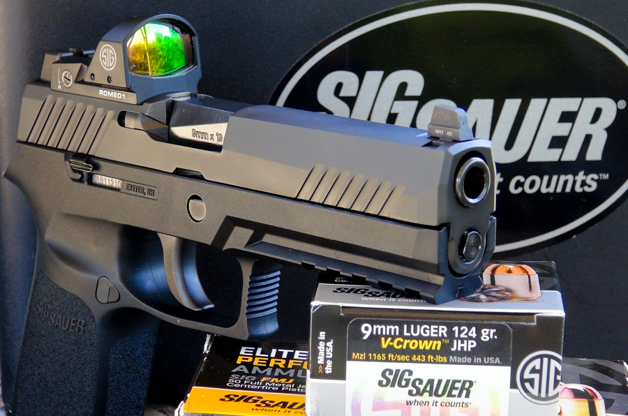 Sig's New P320RX Competition & Defense Pistol—Full Review