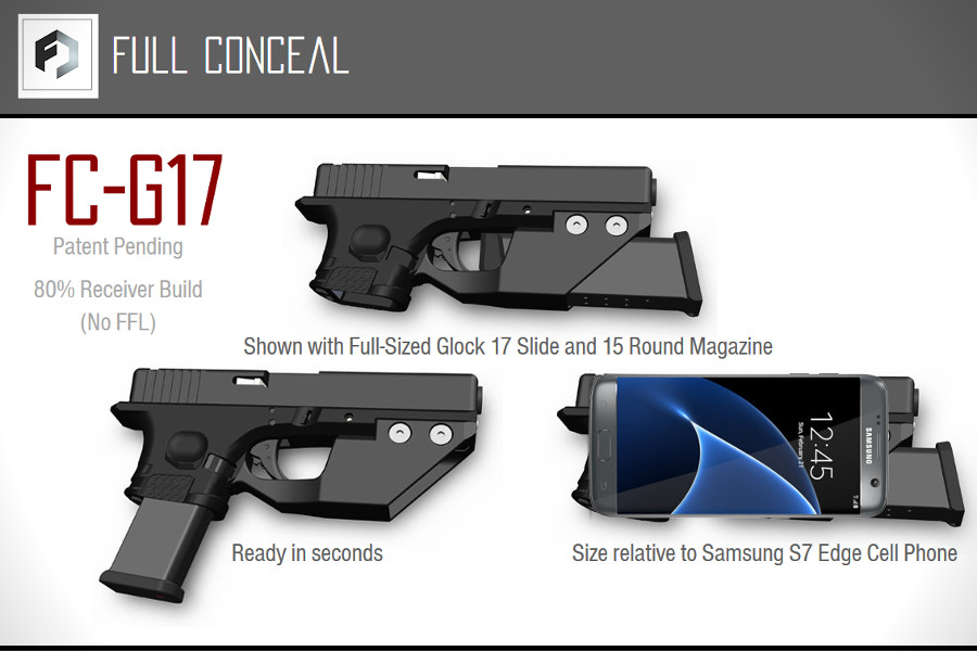 Check out this 80 Percent Deep Concealment Pistol