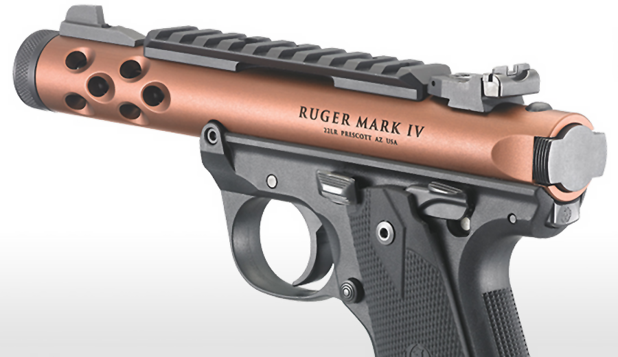 Ruger Adding 5 New Handguns Late 2016, 2 Autos and 3 Revolvers