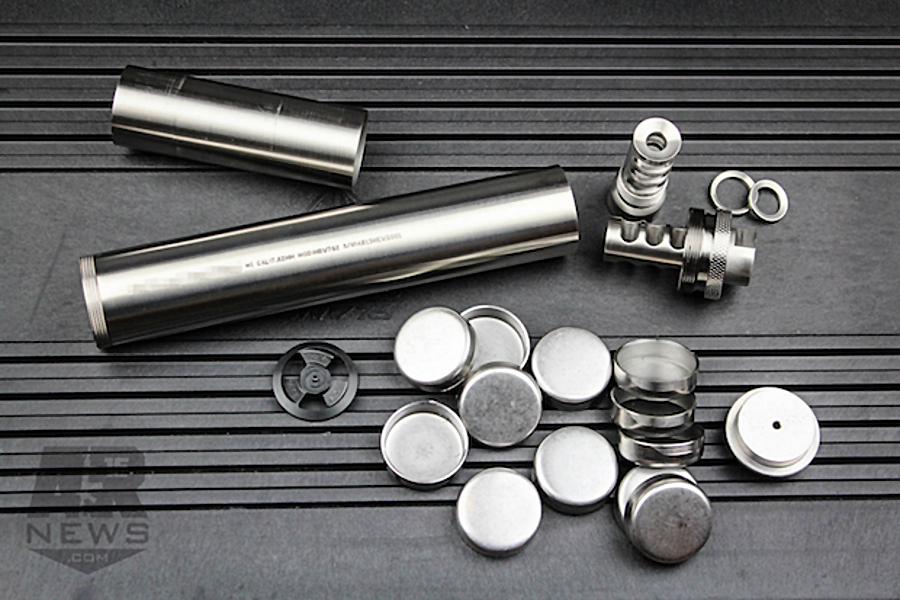 A Anium Solvent Trap Kit These Are Incomplete Kits That Need To Be Registered And Machined Before They Can Function As Suppressors